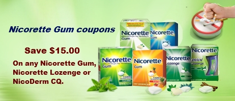 Nicorette gum coupon