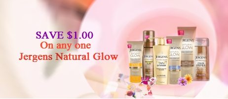 Jergen Natural Glow coupons