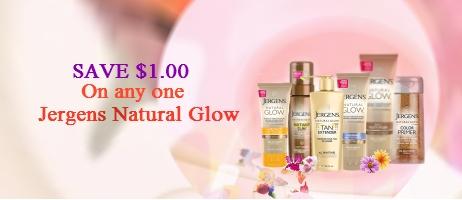 Jergen Natural Glow coupons
