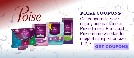 poise coupons printable