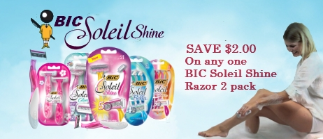 graphic regarding Bic Printable Coupons identified as Bic Soleil glow Razor Coupon Community