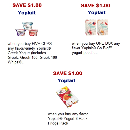 View the Yoplait yogurt product list to find the yogurts that are great for kids and Cash Back · Redeem Online · Low Sodium · Printable Coupons.
