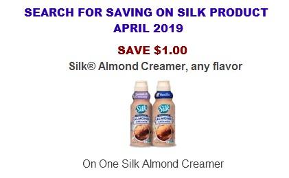 Silk Coupons