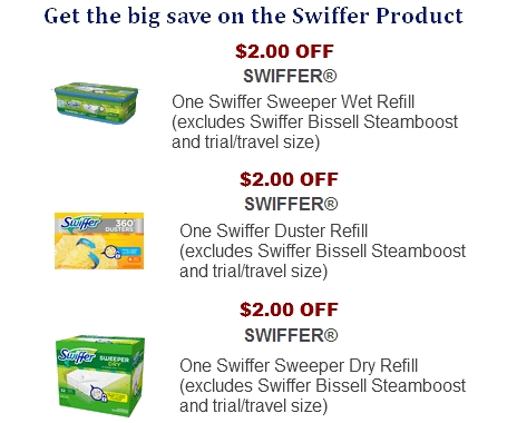 image about Swiffer Coupons Printable named Sweeper duster coupon