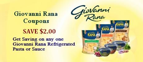Giovanni Rana printable coupon