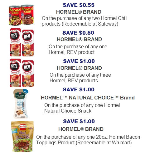 Hormel Coupons 2017