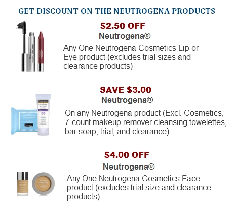 Neutrogena Coupon