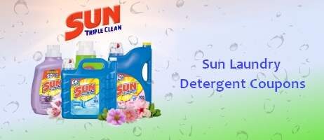 Sun laundry detergent coupons printable