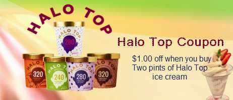 Halo Top Coupons
