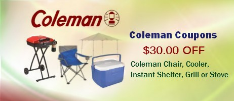 Coleman Coupons printable