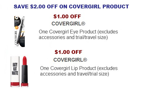 Covergirl Coupons