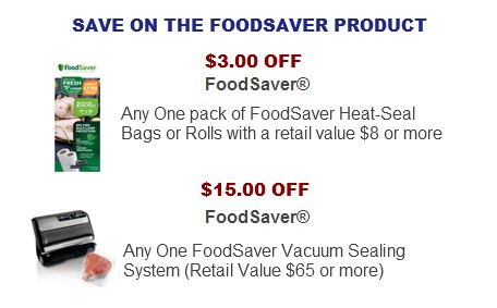 FoodSaver Coupon