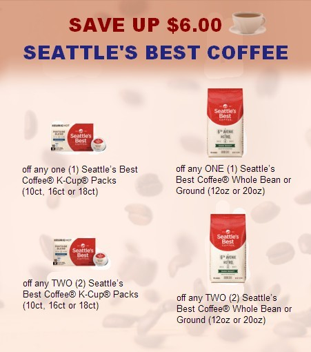 Seattle's Coffee Coupons