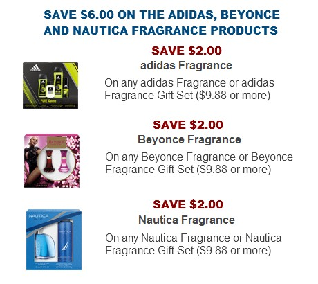Fragrance coupon