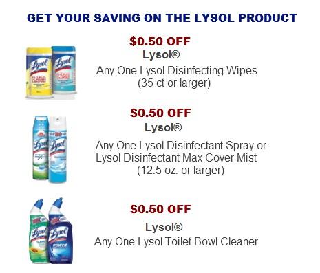 Lysol coupon