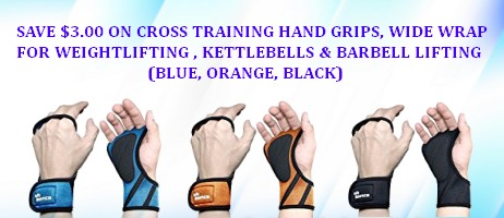 Cross Training Hand Grips coupons