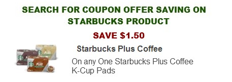 Starbucks coffee coupons printable