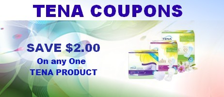 Tena Coupons printable