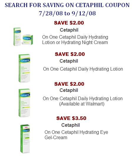 Cetaphil Coupons