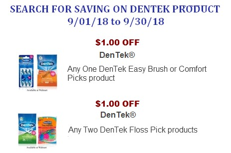 Dentek CouponS