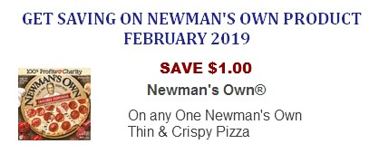 Newman's Own Coupon