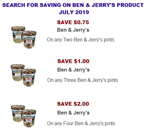 graphic about Ben and Jerry's Printable Coupons referred to as Ben Jerrys discount coupons Coupon Community