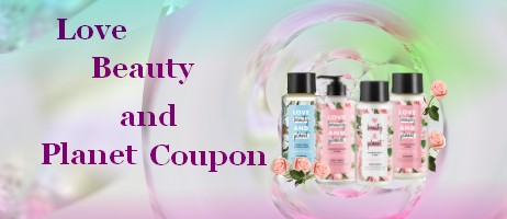 Love Beauty and Planet Coupons