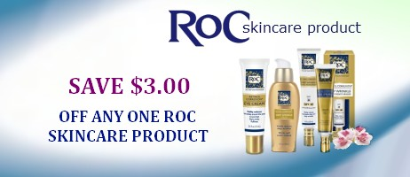 Roc Skincare Coupons