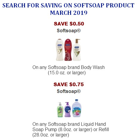 Softsoap Coupons Printable