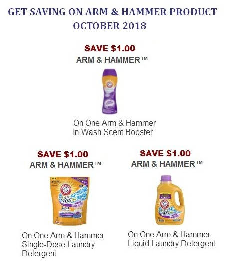 Arm and Hammer Coupon