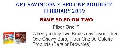 Fiber One Coupons Printable