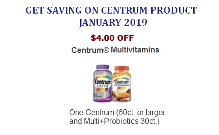 Centrum coupons printable