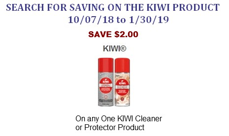 Kiwi Cleaning Shoes coupons
