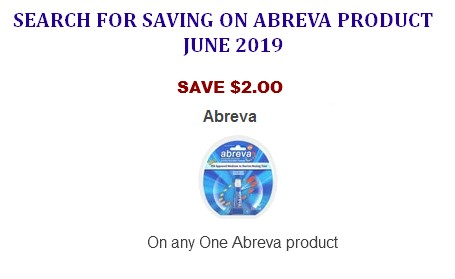 graphic relating to Abreva Coupon Printable known as Abreva product coupon codes printable Coupon Community