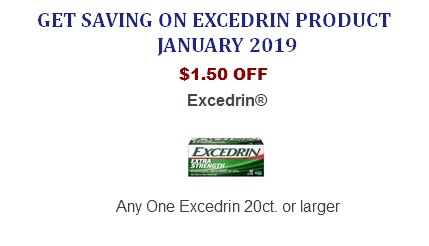 Excedrin coupons printable