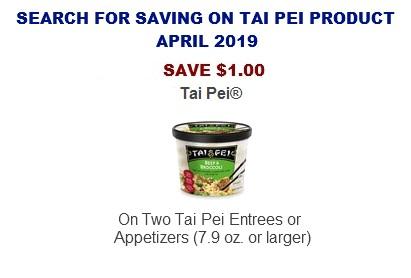 Tai Pei coupons