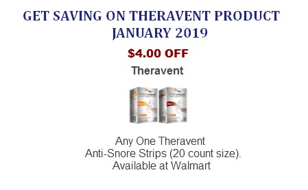 Theravent coupons