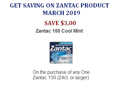 picture about Zantac Printable Coupon called Zantac discount codes Printable Coupon Community