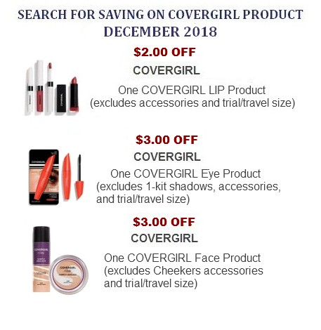 Covergirl Coupons Printable