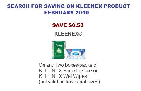 Kleenex Coupons Printable