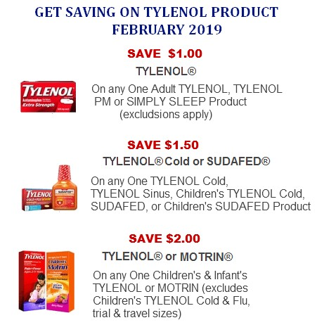 Tylenol coupons printable