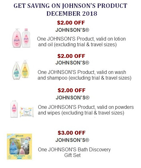 Johnson's Coupons