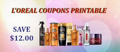 L'Oreal coupons