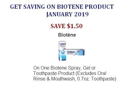 Biotene Oral Care Coupons