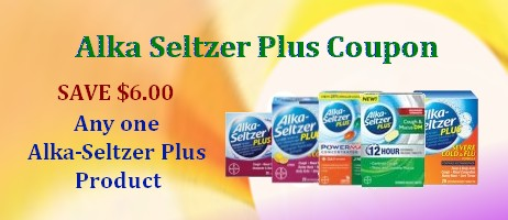 Alka Seltzer Plus Coupons