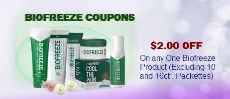 Biofreeze Coupons Printable