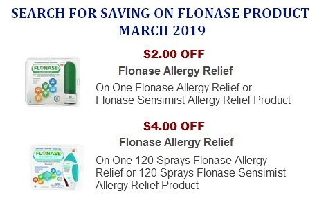 Flonase coupons
