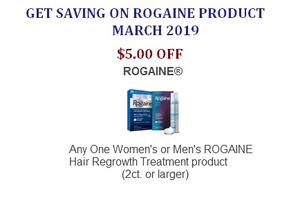 Rogaine Coupons Printable