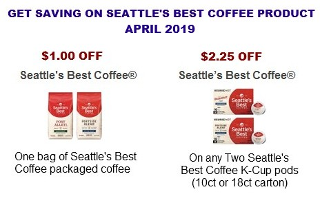 Seattle's Best Coffee Coupons Printable
