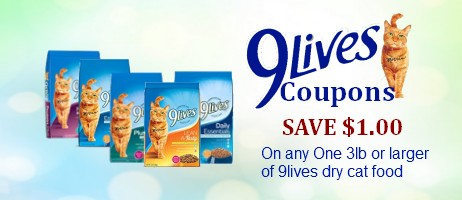 9Lives Printable Coupons